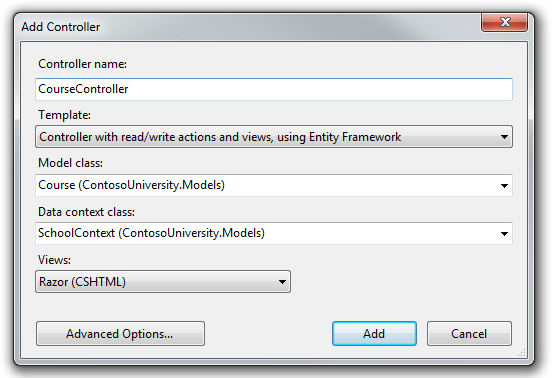 Reading Related Data with the Entity Framework in an ASP.NET MVC ...